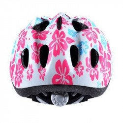 Casque Enfant Baby Optimiz O-200 Baby Flower Blanc/Rose