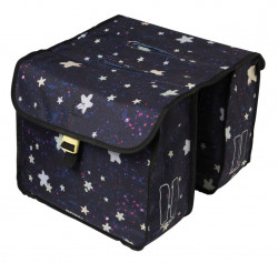 Sacoche double stardust nightshade, 20 litres