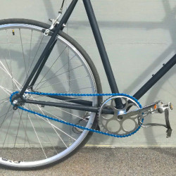 Chaîne vélo BMX FIXIE Single Speed bleue