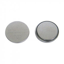 2 Piles boutons CR2032 - Lithium - 3 V