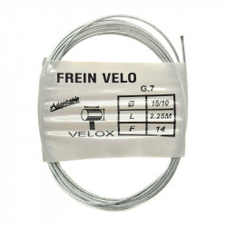 Cable Frein VTT Inox - Longueur 2,25 m