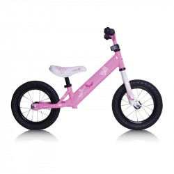 Draisienne Rebel Kidz 12,5 Air Acier, papillon rose