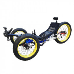 Fat Trike - Tricycle couché à gros pneus